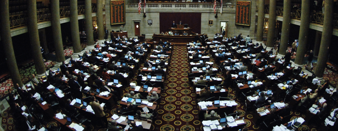 "The Missouri House of Representatives (seen here) voted yesterday to allow the state's utilities to charge solar customers an often arbitrary ""recovery"" fee in service of the ""cost-shift"" lie utilities across the country continue to perpetuate."